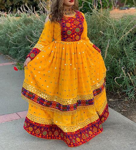 مدل های لباس افغانی,جدیدترین مدل های لباس افغانی