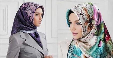 روش جلوگیری از لیز خوردن روسری, جلوگیری از سر خوردن شال و روسری, نحوه ی جلوگیزی از لیز خوردن شال و روسری