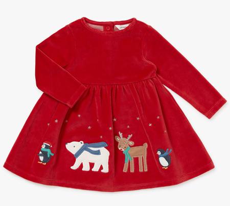 لباس ویژه کریسمس, لباس بچه گانه