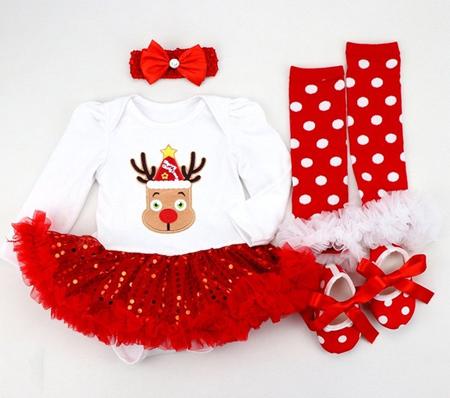 مدل لباس نوزادی کریسمس,لباس ویژه کریسمس