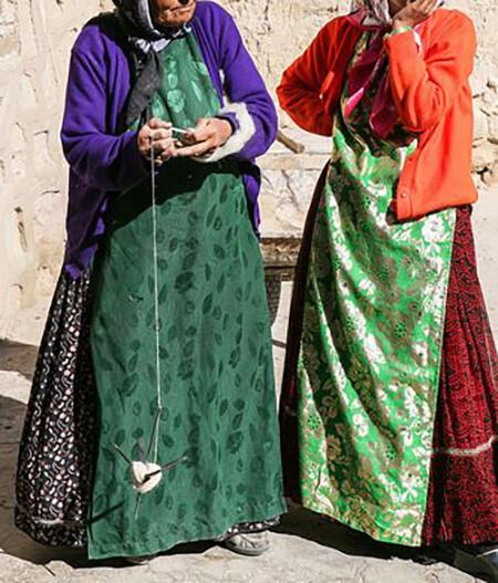 لباس بختیاری زنانه, شیک ترین مدل لباس بختیاری زنانه, لباس زنانه بختیاری