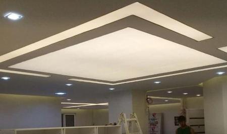 طرح های ساده و شیک سقف کششی, دکوراسیون سقف کششی