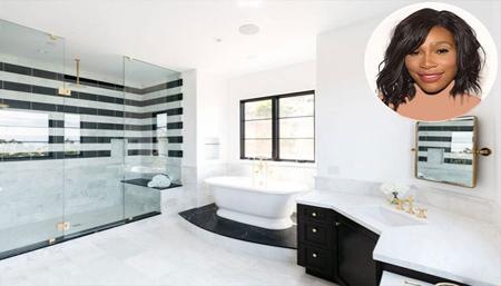 دکوراسیون خانه ستاره های هالیوود,دکوراسیون حمام خانه ستاره ها