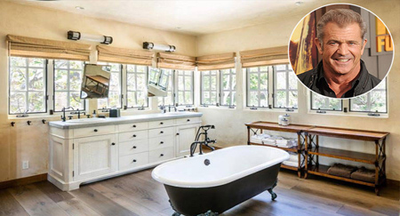 حمام ستاره های هالیوودی,تصاویر حمام خانه ستاره ها
