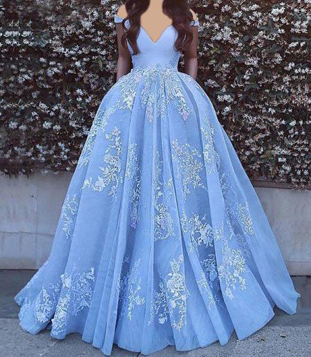 لباس شب به رنگ آبی, لباس مجلسی آبی