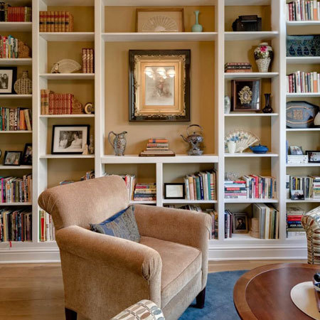 چیدمان اتاق با کتاب,دکوراسیون و چیدمان اتاق با کتاب