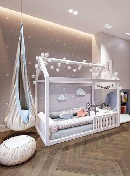 سرویس خواب نوزاد پسرانه, سرویس چوبی پسرانه