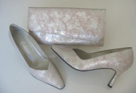 ست کیف و کفش نقره ای, ست کیف و کفش طلایی