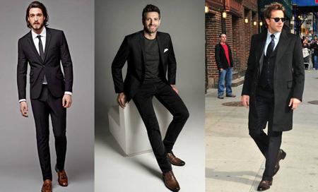 نکاتی برای پوشیدن کفش قهوه ای, پوشیدن کفش قهوه ای