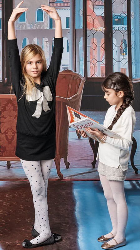 children1 tights2 model3 - مدل های جدید جوراب شلواری بچه گانه