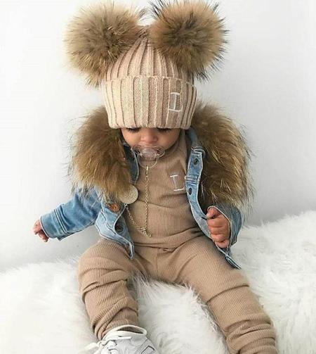 زیباترین مدل لباس بچه گانه,لباس های دخترانه ویژه زمستان