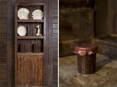 طرز درست کردن کلبه شکلاتی, تصاویر کلبه شکلاتی