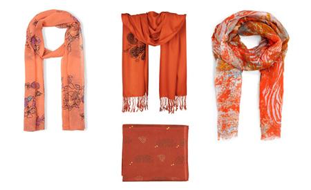 نکاتی برای انتخاب شال و روسری,روسری هماهنگ با پوست