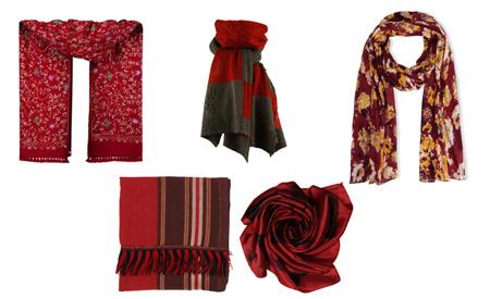 انتخاب شال و روسری,راهنمای انتخاب شال و روسری