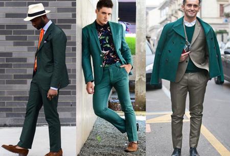 لباس سبز مردانه, راهنمای خرید لباس سبز مردانه