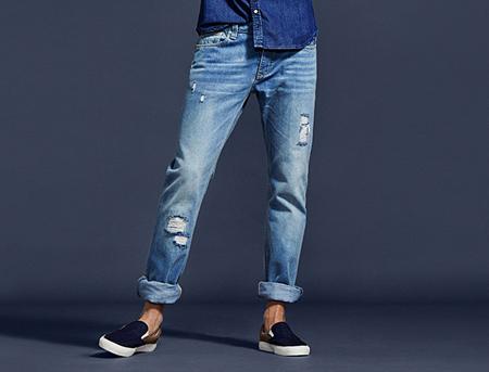 نکاتی برای خرید شلوار لی مردانه, خرید شلوار جین راسته مردانه