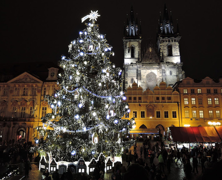 ایده هایی برای تزیین شهر در کریسمس, مدل های چراغانی کردن شهر در کریسمس