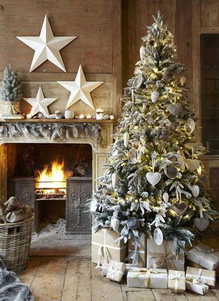چیدمان زیبای خانه در کریسمس,ایده هایی برای دکوراسیون خانه برای کریسمس