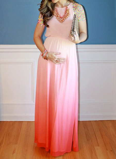 شیک ترین لباس های بارداری,انتخاب رنگ لباس بارداری