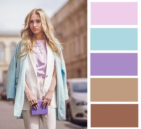 لباس های رنگی خانم ها, راهنمای انتخاب لباس های رنگی برای خانم ها