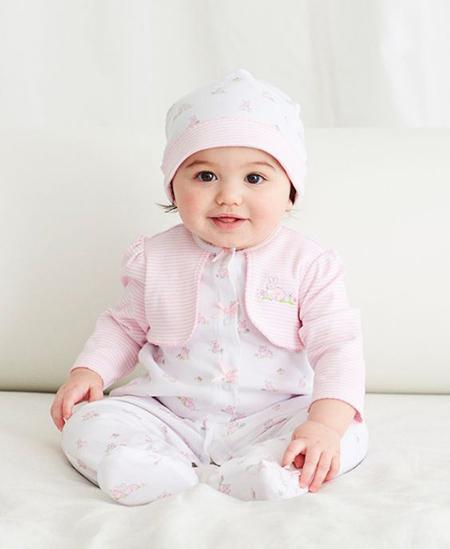 لباس نوزادی دخترانه,لباس نوزادان