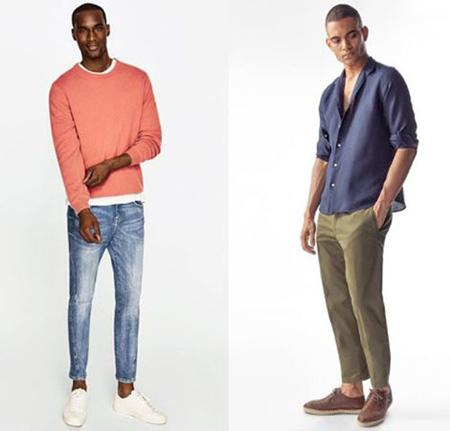 لباس های رنگی آقایان, انتخاب لباس برای آقایان