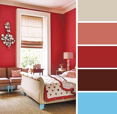 جدیدترین رنگ های ترکیبی اتاق خواب,دکوراسیون و چیدمان اتاق خواب