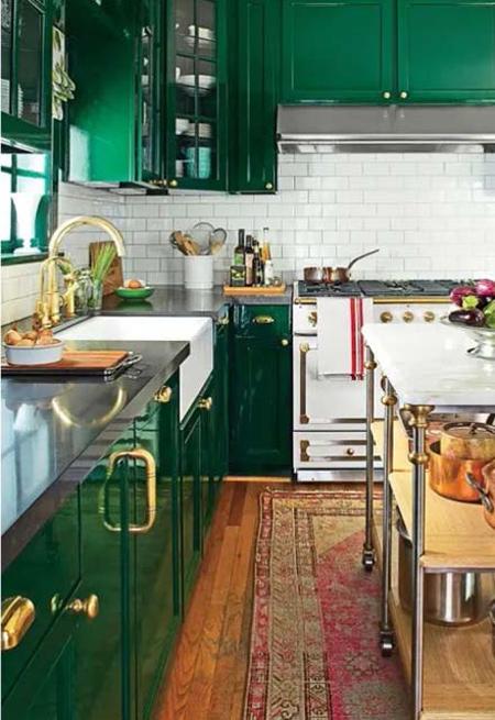 دکوراسیون و چیدمان آشپزخانه های رنگی,نکاتی برای دکوراسیون رنگی آشپزخانه