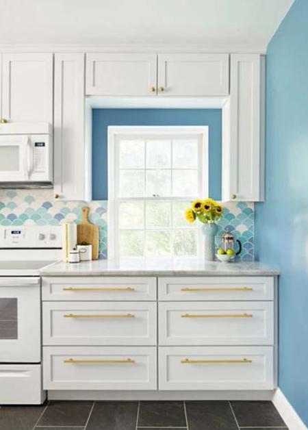 پیشنهادهایی برای آشپزخانه های رنگی,پیشنهادهای برای دکوراسیون رنگی آشپزخانه