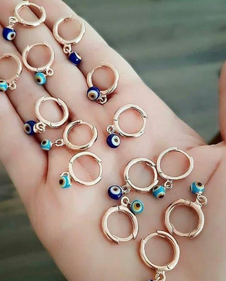 زیباترین طلا و جواهرات,مدل گوشواره