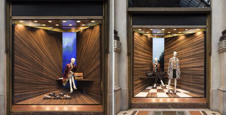مدل دکوراسیون و چیدمان ویترین مغازه لباس فروشی,دکوراسیون ویترین مغازه