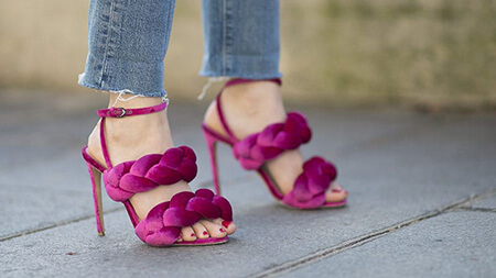 انواع مدل پاشنه کفش,مدل های پاشنه,معرفی انواع مدل پاشنه کفش