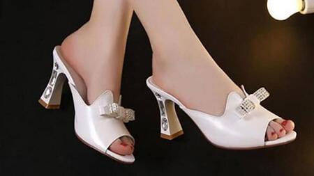 مدل های پاشنه,معرفی انواع مدل پاشنه کفش,معرفی پاشنه های کفش