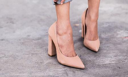 آشنایی با انواع مدل پاشنه کفش,مدل هایی متفاوت از پاشنه کفش,درباره ی انواع پاشنه کفش
