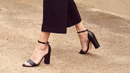مدل های پاشنه کفش,معرفی پاشنه های کفش,درباره ی انواع پاشنه کفش