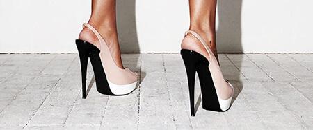 معرفی انواع مدل پاشنه کفش,مدل های پاشنه کفش,معرفی پاشنه های کفش