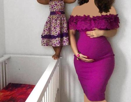 لباس های شیک بارداری,لباس بارداری مجلسی