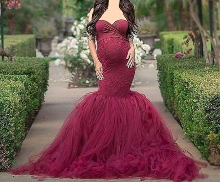لباس بارداری مجلسی, مدل لباس بارداری مجلسی