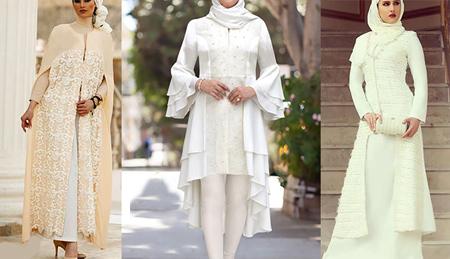 لباس عقد محضري,مدل مانتو عروس