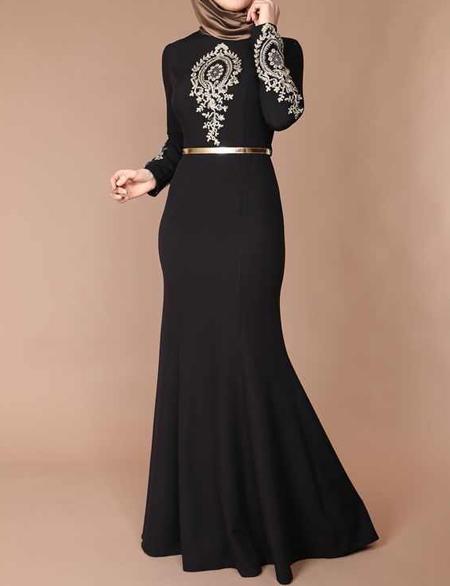لباس مجلسي بلند,مدل لباس مجلسي پوشيده