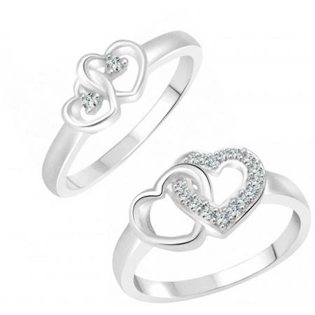 حلقه های جدید نامزدی, مدل حلقه های جفتی