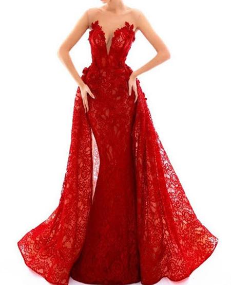 مدل لباس نامزدی بلند, لباس نامزدی حریر
