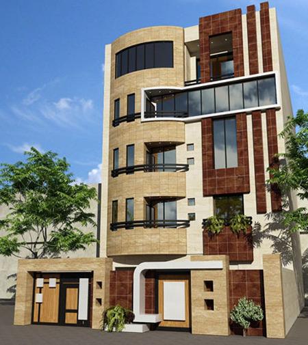 طراحی سنگ نمای ساختمان, طراحی نمای ساختمان
