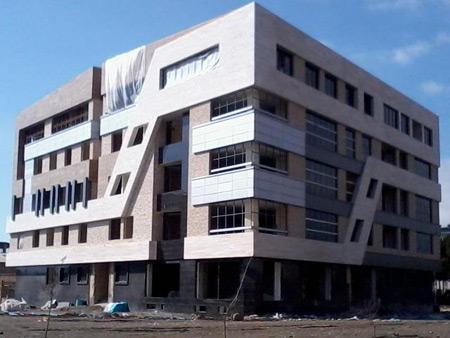 شیک ترین نمای سنگی ساختمان,نمای زیبای ساختمان