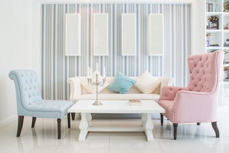 ایده هایی برای طراحی داخلی, استفاده از دیوارهای سفید