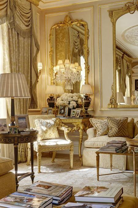 دکوراسیون سلطنتی فرانسوی,دکوراسیون فرانسوی مدرن