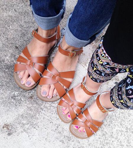 شیک ترین مدل ست کفش مادر دختری, ست های شیک کفش مادر دختری