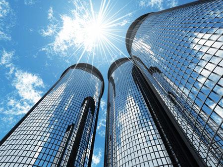 نمای شیشه ای,طراحی نمای ساختمان
