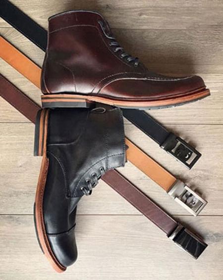 نکاتی برای ست کردن رنگ کفش با کمربند,نحوه ست کردن کفش و کمربند