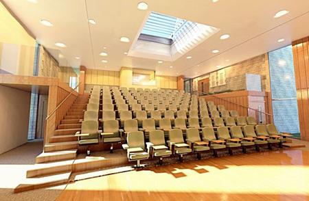 طراحی سالن های آمفی تئاتر,سالن های آمفی تئاتر,طراحی سالن آمفی تئاتر